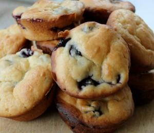 muffins de arandano - Huerto de Urbano